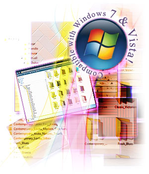 ComfortableConservatories v4 now works with Windows® 7 and Vista!