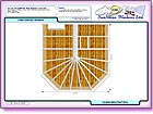 Image thumbnail of the Roof View with Dimensions report available within ComfortableConservatories.